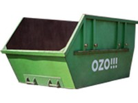Stavební odpad - suť - otevřený kontejner 7 m<sup>3</sup>