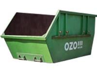 Tráva a listí - otevřený kontejner 7 m<sup>3</sup>
