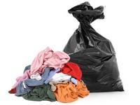 Objemný odpad - nábytek - pytle textilu (1 až 5 ks) - 0,5 m<sup>3</sup>